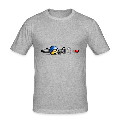 Love Rocketk - Männer Slim Fit T-Shirt