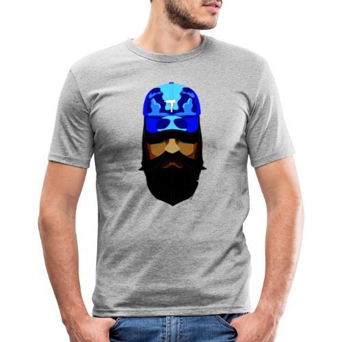 T-shirt gorra dadhat y boso estilo fresco - Camiseta ajustada hombre