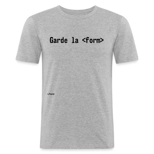 Design_dev_blague - T-shirt près du corps Homme