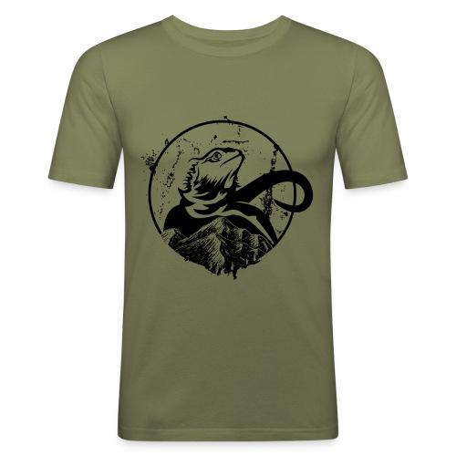 Bearded Dragon - Männer Slim Fit T-Shirt