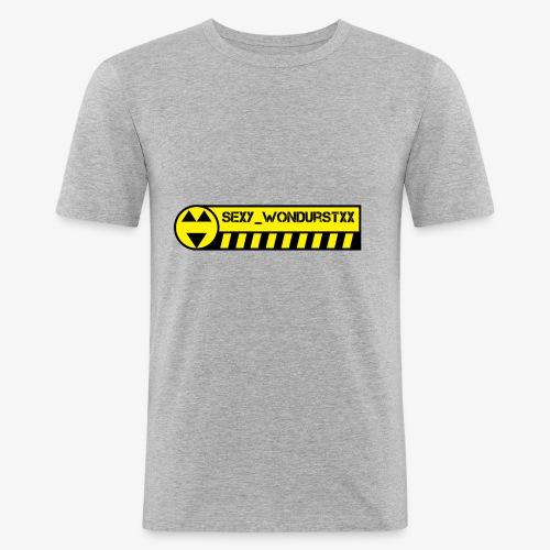 wondurstxx logo 01 - Maglietta aderente da uomo