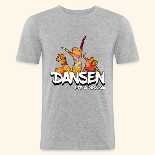 Dansen Mosaik - Slim Fit T-shirt herr