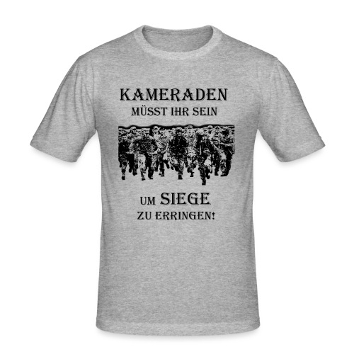 Kameraden Soldat Bundeswehr - Männer Slim Fit T-Shirt