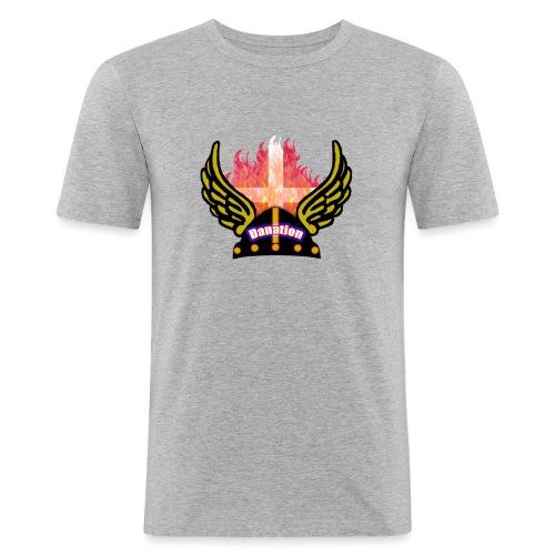 Danation - Herre Slim Fit T-Shirt