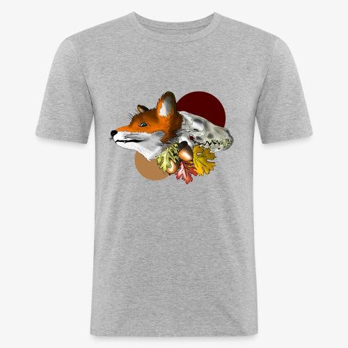 Autumn Foxey - Maglietta aderente da uomo