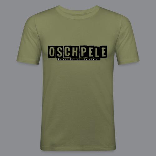 oschpele Kachelform - Männer Slim Fit T-Shirt