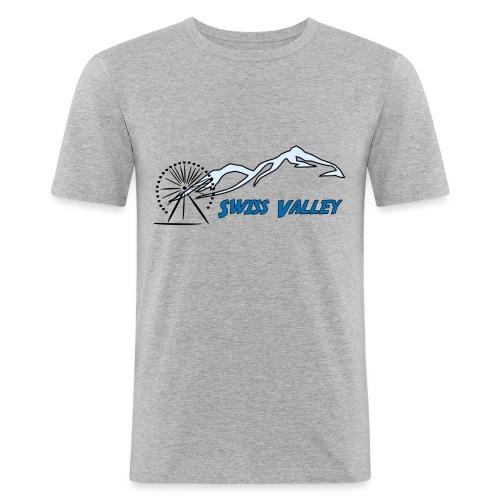 Swiss Valley Freizeit Park - Männer Slim Fit T-Shirt