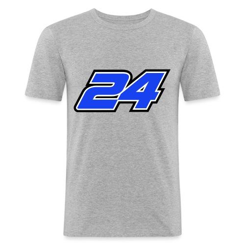 Num 24 Nicolas Charlier - T-shirt près du corps Homme