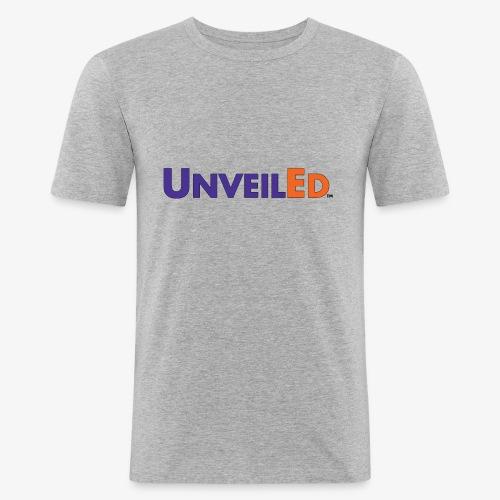 Unveiled FedEx Logo - Men's Slim Fit T-Shirt