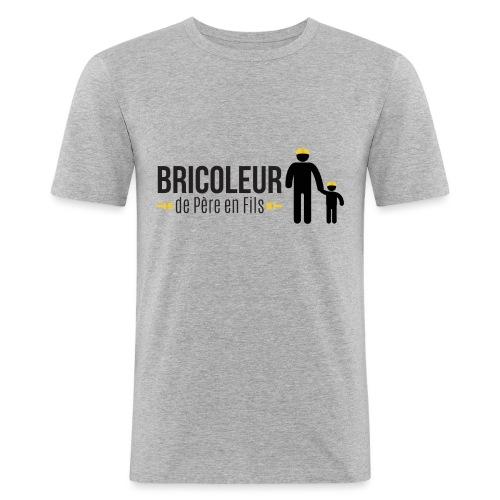 BRICOLEUR DE PERE EN FILS - T-shirt près du corps Homme