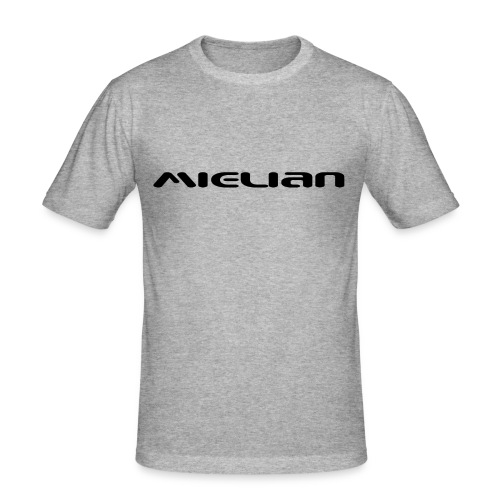 Mielian Logo - Men's Slim Fit T-Shirt