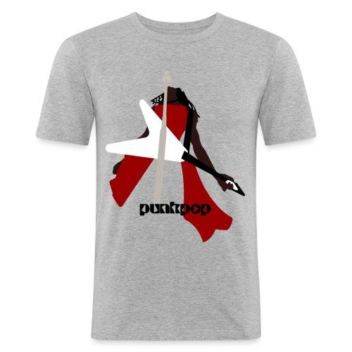 LK AYGGMW PunkPop - Maglietta aderente da uomo
