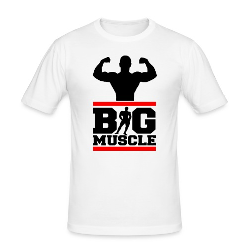 Body building big muscle - Maglietta aderente da uomo