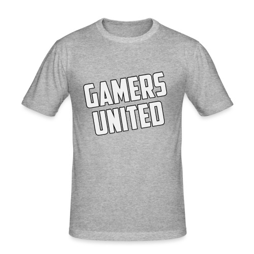 Gamers United - Men's Slim Fit T-Shirt
