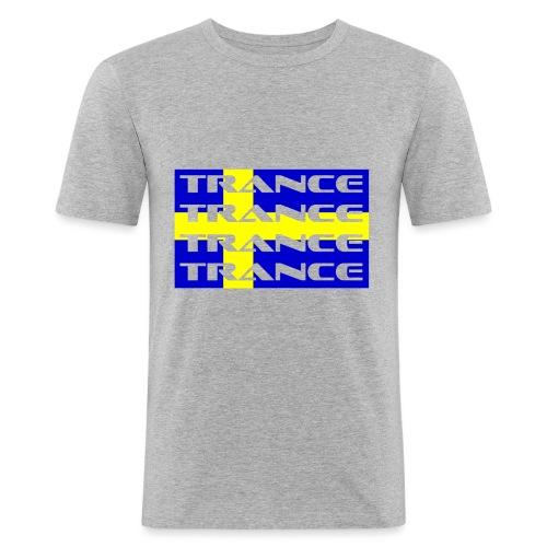sverige_trance - Slim Fit T-shirt herr