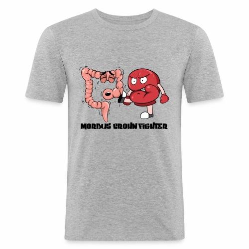 Morbus Crohn Kämpfer - Männer Slim Fit T-Shirt
