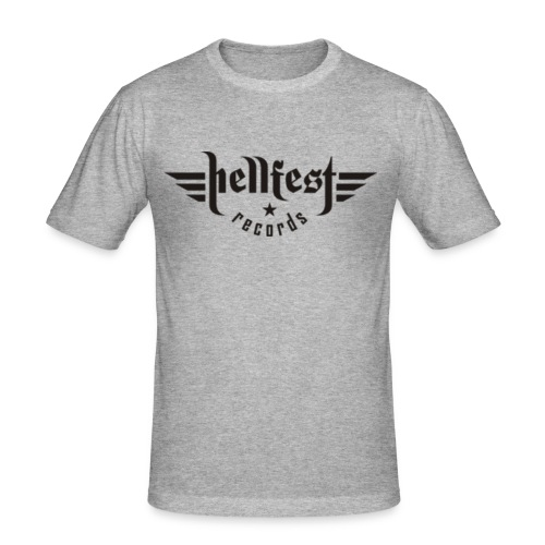 hellfest records logo png - Männer Slim Fit T-Shirt