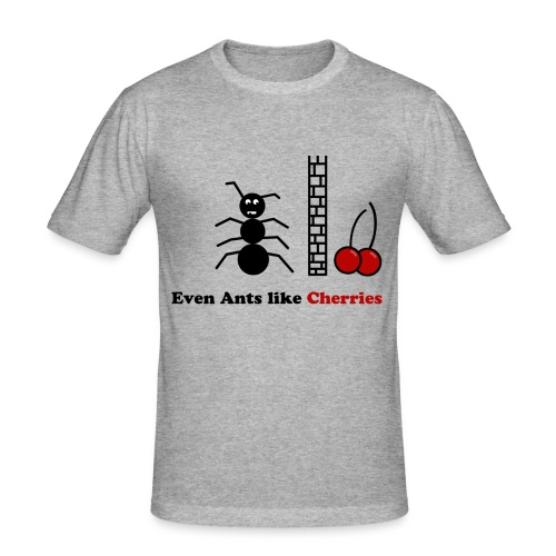 evenantslikecherrys - Männer Slim Fit T-Shirt