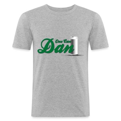 One Can Dan - Men's Slim Fit T-Shirt