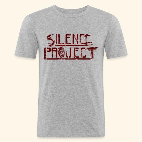 Silence Project - T-shirt près du corps Homme