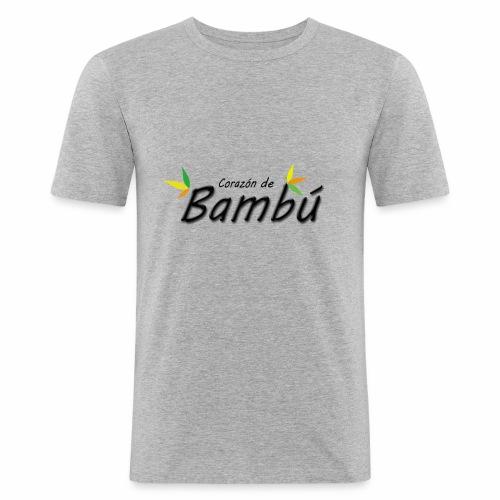 Corazón de bambú - Camiseta ajustada hombre
