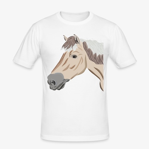 Fjord Pony - Männer Slim Fit T-Shirt