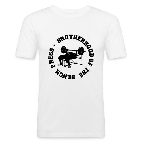 BENCH PRESS - Maglietta aderente da uomo