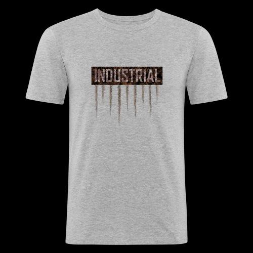 Industrial metal T Shirt - Men's Slim Fit T-Shirt