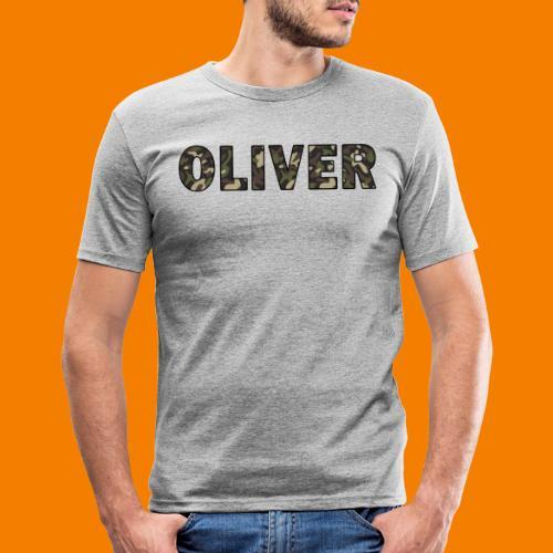 Oliver - Slim Fit T-shirt herr