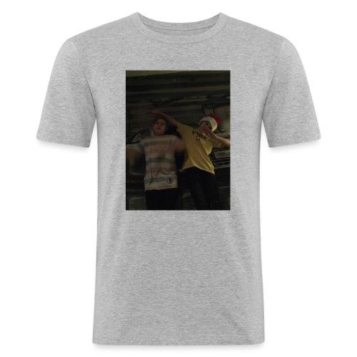 Livia och Dante - Slim Fit T-shirt herr