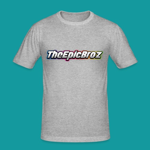 TheEpicBroz - Mannen slim fit T-shirt