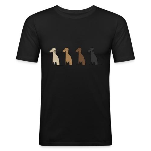 Logo Kusei - Männer Slim Fit T-Shirt