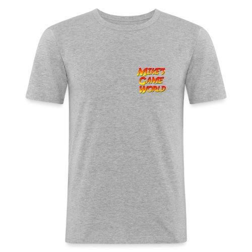 New Logo - Mannen slim fit T-shirt