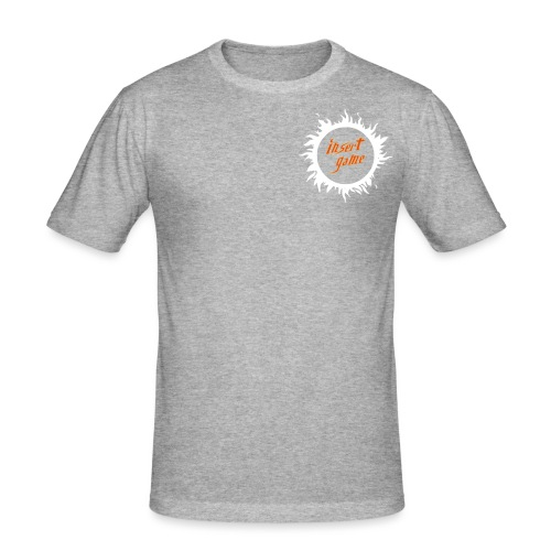 Insert Game Logo - 96 Style - Männer Slim Fit T-Shirt