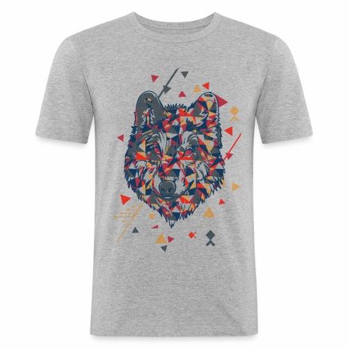 Bad Wolf - Men's Slim Fit T-Shirt