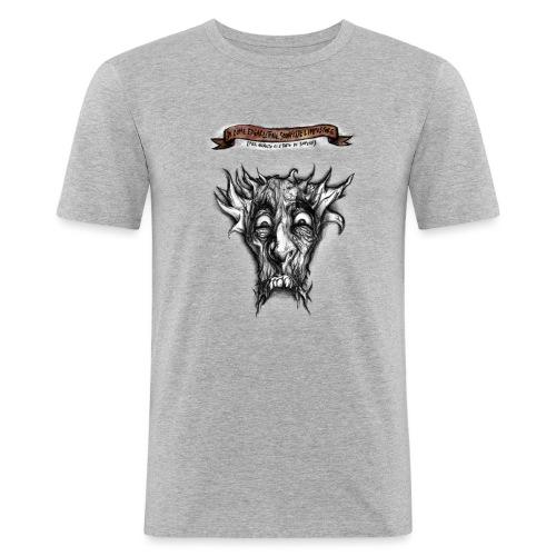 T-shirt del Dio Diaforo Tossidoille - Maglietta aderente da uomo