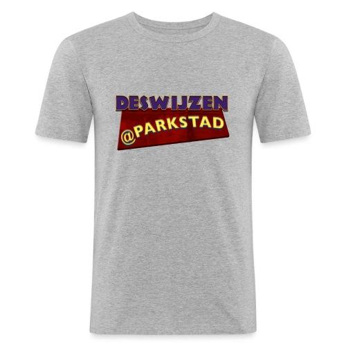 Deswijzen@Parkstad - Mannen slim fit T-shirt