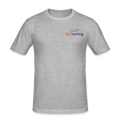 eteltuningshop logo aktuell - Männer Slim Fit T-Shirt