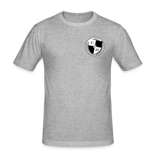 Residents' Club shield - Men's Slim Fit T-Shirt