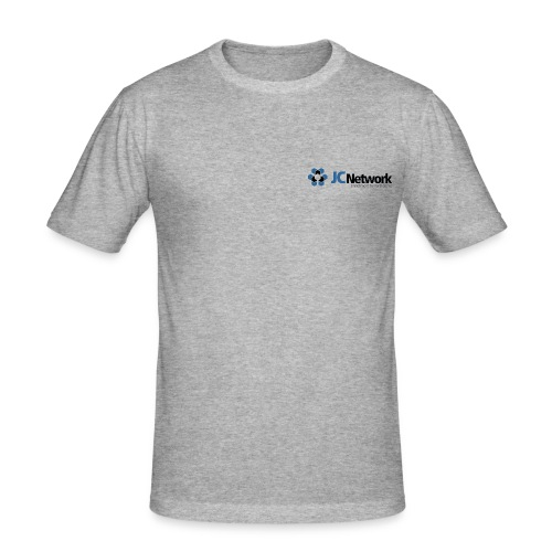 JCNetwork Merchandise - Männer Slim Fit T-Shirt