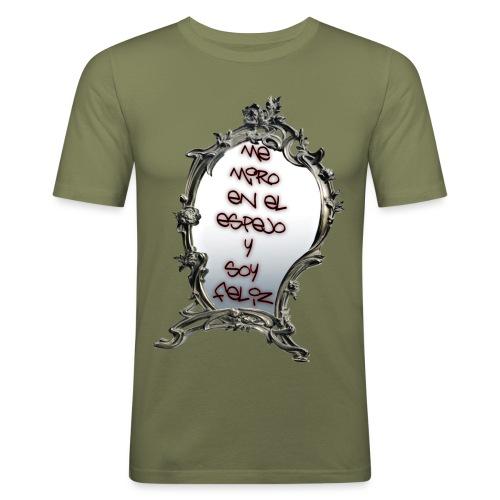 ME MIRO EN EL ESPEJO.... - Camiseta ajustada hombre