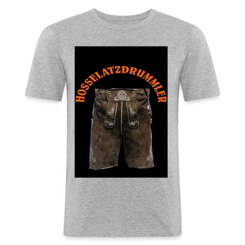 hosselatzdrummler1 - Männer Slim Fit T-Shirt