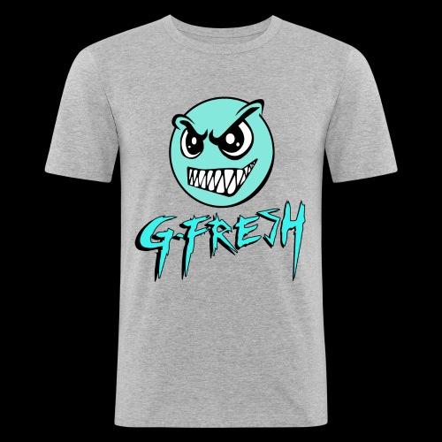 G-Fresh logo - Mannen slim fit T-shirt