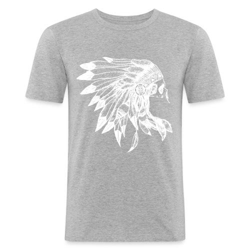 Indianer - Männer Slim Fit T-Shirt