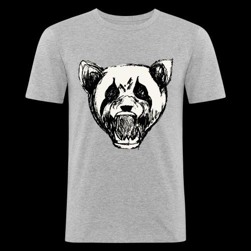 NatureRebellion Panda - T-shirt près du corps Homme