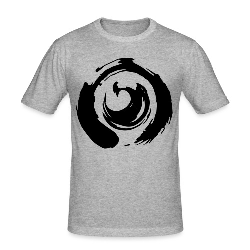 I am Netlight - Slim Fit T-shirt herr