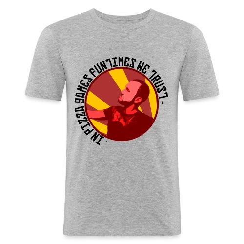 In PGF We Trust - Men's Slim Fit T-Shirt