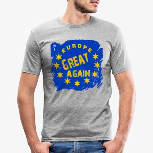 Europe Great again - Männer Slim Fit T-Shirt