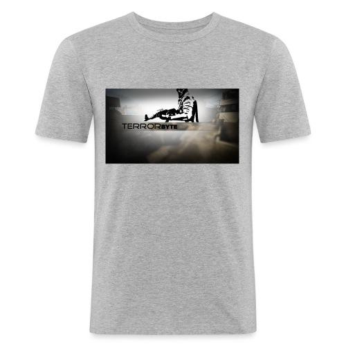 Terrorbyte_Clan - Männer Slim Fit T-Shirt
