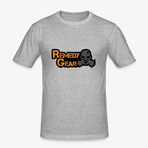 Remedy Gear Logo Wear - Men's Slim Fit T-Shirt